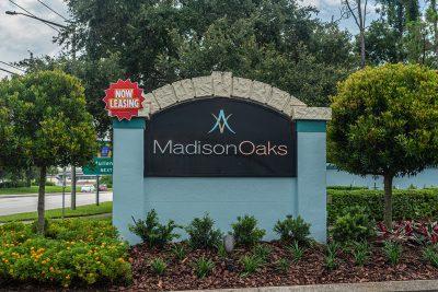 Madison Oaks Signage