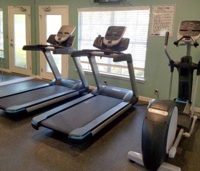 Fitness Center Close Up