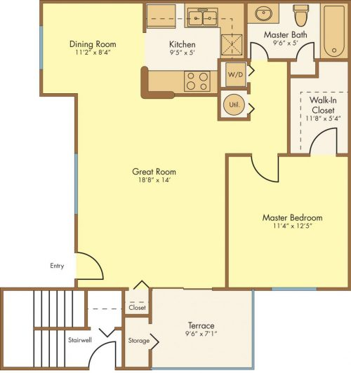 Andalusia Floor Plan
